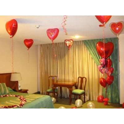 Decoracion y arreglos con globos cualquier tipo de evento for Decoraciones de cuartos para parejas