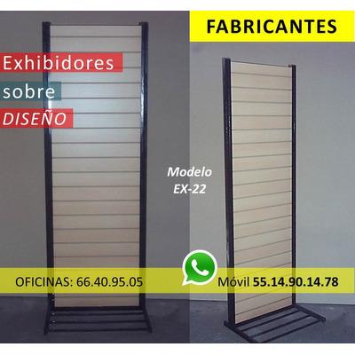 Exhibidor panel Ranurado