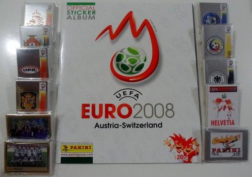 Album Panini Euro 2008 Austria- Suiza Completo!! Ronaldo