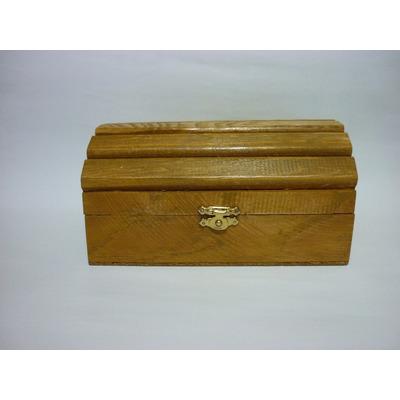 Cofre baul alhajero recuerdo para decorar de madera ra l - Como decorar un baul de madera ...