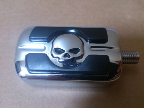 Pedal De Cambios Shifter Peg Skull Para Harley Davidson