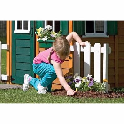 Casita infantil casa de juego para ninas de madera - Casa madera infantil ...