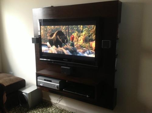 Centro entretenimiento ms mueble tv excelente - Mueble tv plasma ...