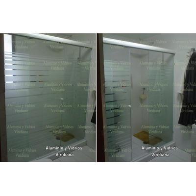Ventanas de aluminio canceles de ba o vidrio templado for Cuanto sale una puerta