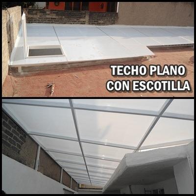 Domos de policarbonato 950 0 acrilico la azteca - Precio del policarbonato ...