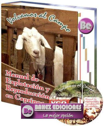 Manual De Explotación Y Reproducción En Caprinos Envio Grat