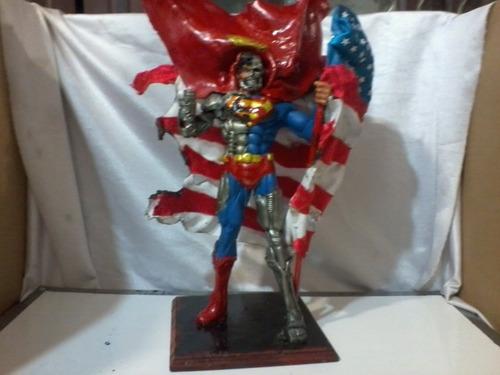Superman Cyborg, Muerte De Superman. Dc. Dark Dagger