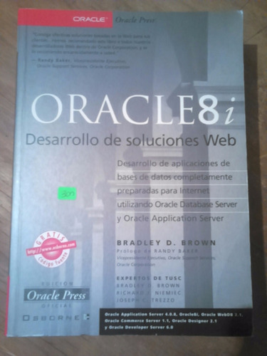 2 Libros Desarrollo Soluc Web Oracle 8i Y Manual Seguridad
