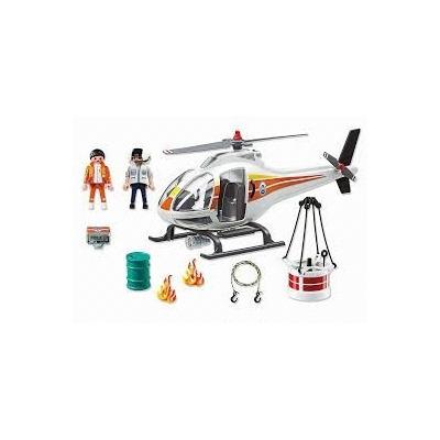 Playmobil 5542 helicoptero de extincion incendios retromex for Helicoptero playmobil