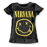 Playera Mujer Nirvana Rock Clasico Band  401rgnir005ln Toxic