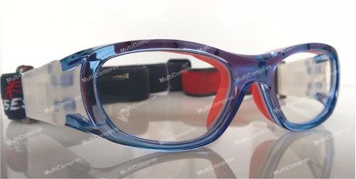 8092873042 ... comprar Goggle Deportivo Juvenil Para Graduar Oftalmico Futbol Azul ...