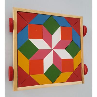 Juego educativo mosaico madera rompecabezas puzzle 250 - Mosaico de madera ...