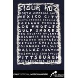 Playera Oficial SIGUR ROS KRUNK TOUR NAVY TEE