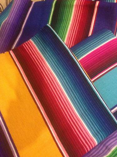 eff9f139acf ... comprar Sarape De Saltillo Artesanía 100% Mexicana Chico 90x190 Cms ...