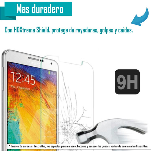 Mica Cristal Samsung S9 A6 A8 A9 J4 J6 J8 J7 Pro Plus 2018
