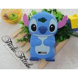 Funda Botarga Stitch Azul Galaxy J7 Pro Triche