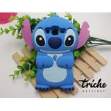 Funda Botarga Stitch Azul Huawei P10 Lite Triche