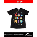 Playera Oficial LOS CALIGARIS  Negro -Texto-