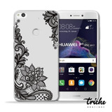 Funda Transparente Flor Vintage Mandala Huawei P9 Lite 2017