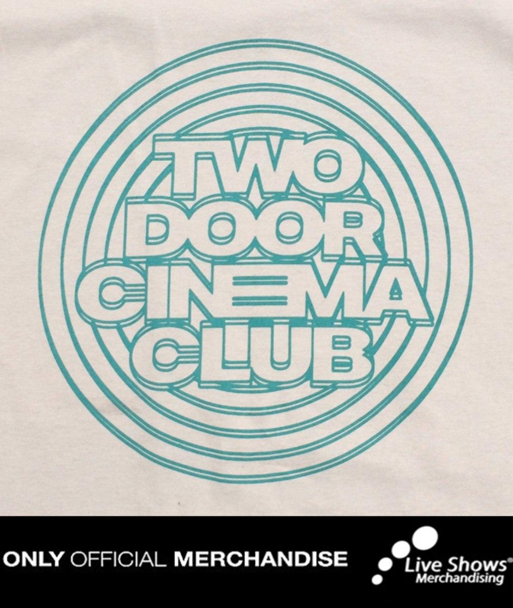 Playera Oficial TWO DOOR CINEMA CLUB Cream