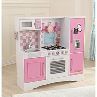 Envio Gratis Cocina Cocinita Ni As Rosa Pastel Kidkraft