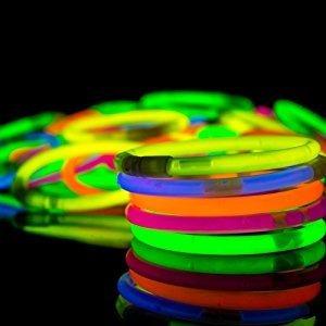 90 Pulseras Neón Luminosas Dj Boda Neon Fiesta Glow Luz