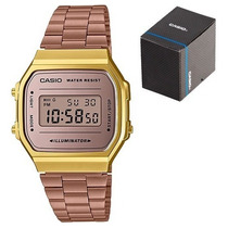 Busca reloj casio rosa a168 retro cobre vintage rose gold a