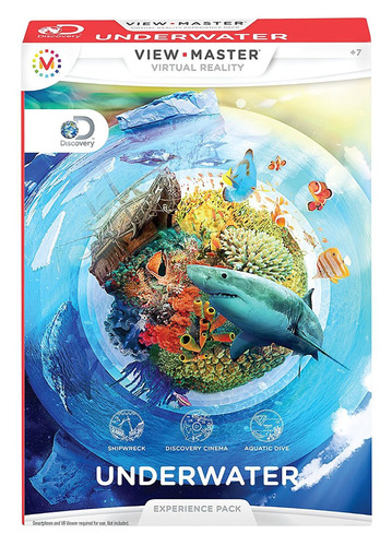 View Master Pack Experiencia Oceanica Mattel