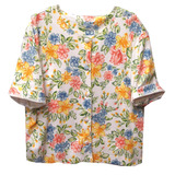 Camiseta vintage flores