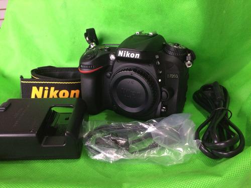 Nikon D7200 Cuerpo  (solo 303 Disparos Seminueva