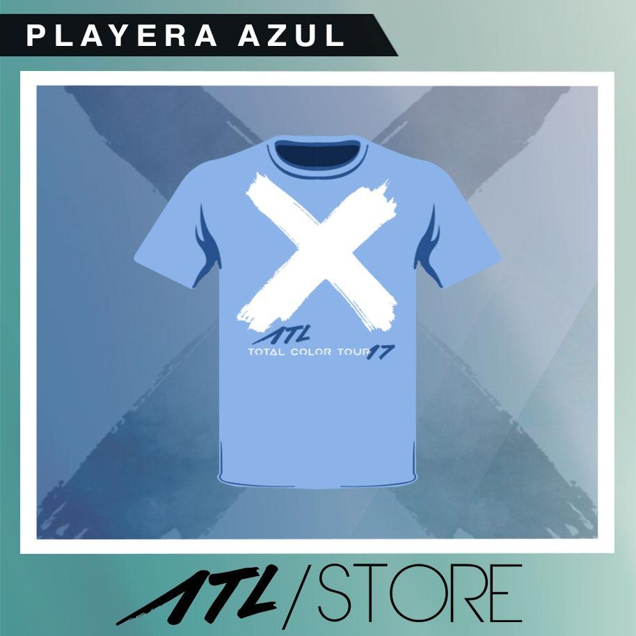 PLAYERA AZUL TCT [HOMBRE]