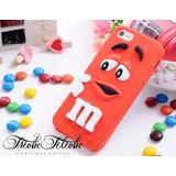Funda Botarga M&M Rojo Galaxy S4 mini Triche
