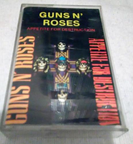Cassette Guns N Roses / Appe Tite For Destruction