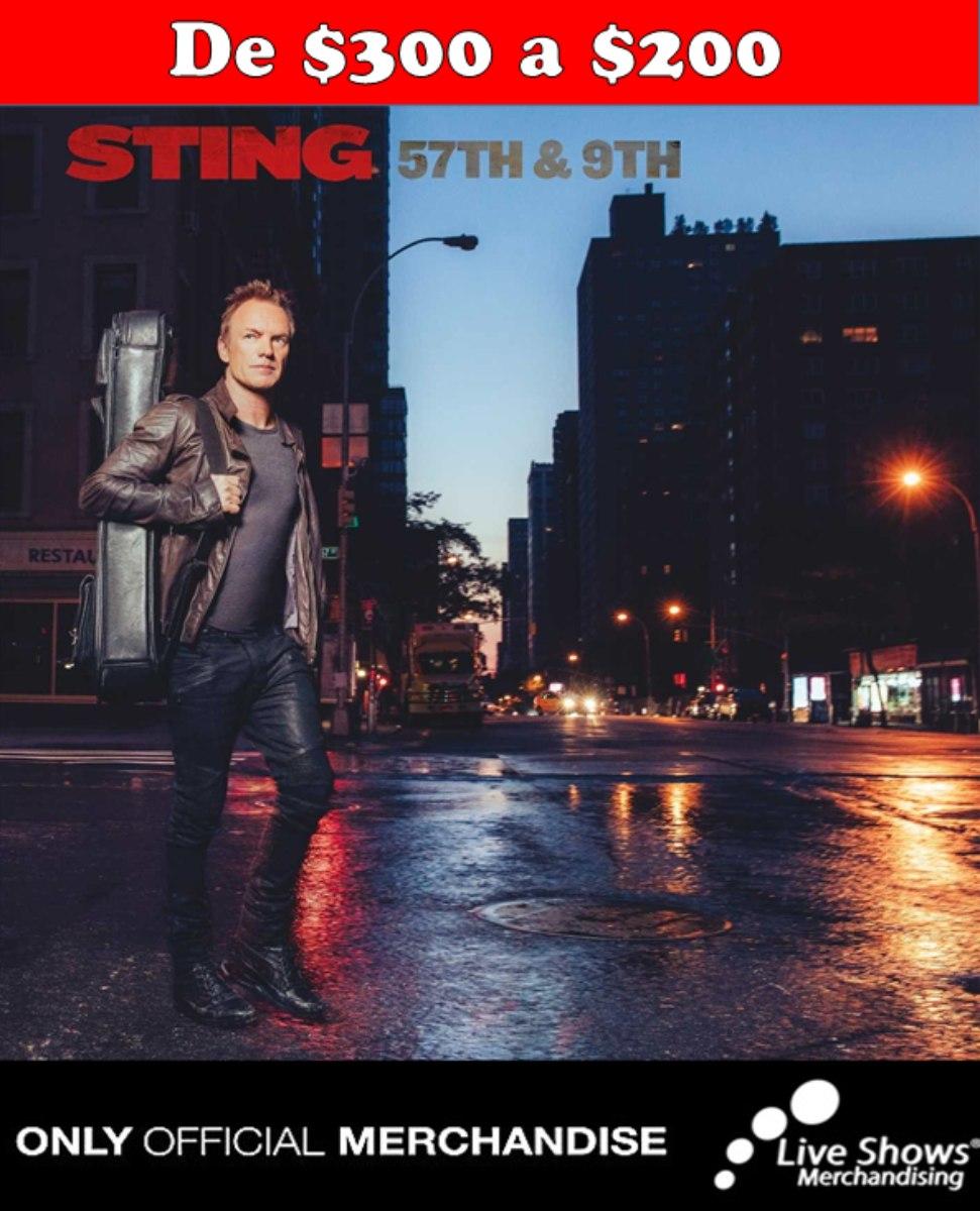 CD Oficial STING