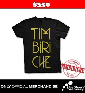 Playera Oficial TIMBIRICHE BLACK TEE