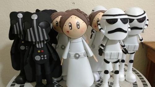 0e9945ac660 Fofuchos Fofuchas Star Wars Princesas Pepa Superheroe en venta en ...