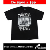 Playera Oficial PIERCE THE VEIL Black TEE