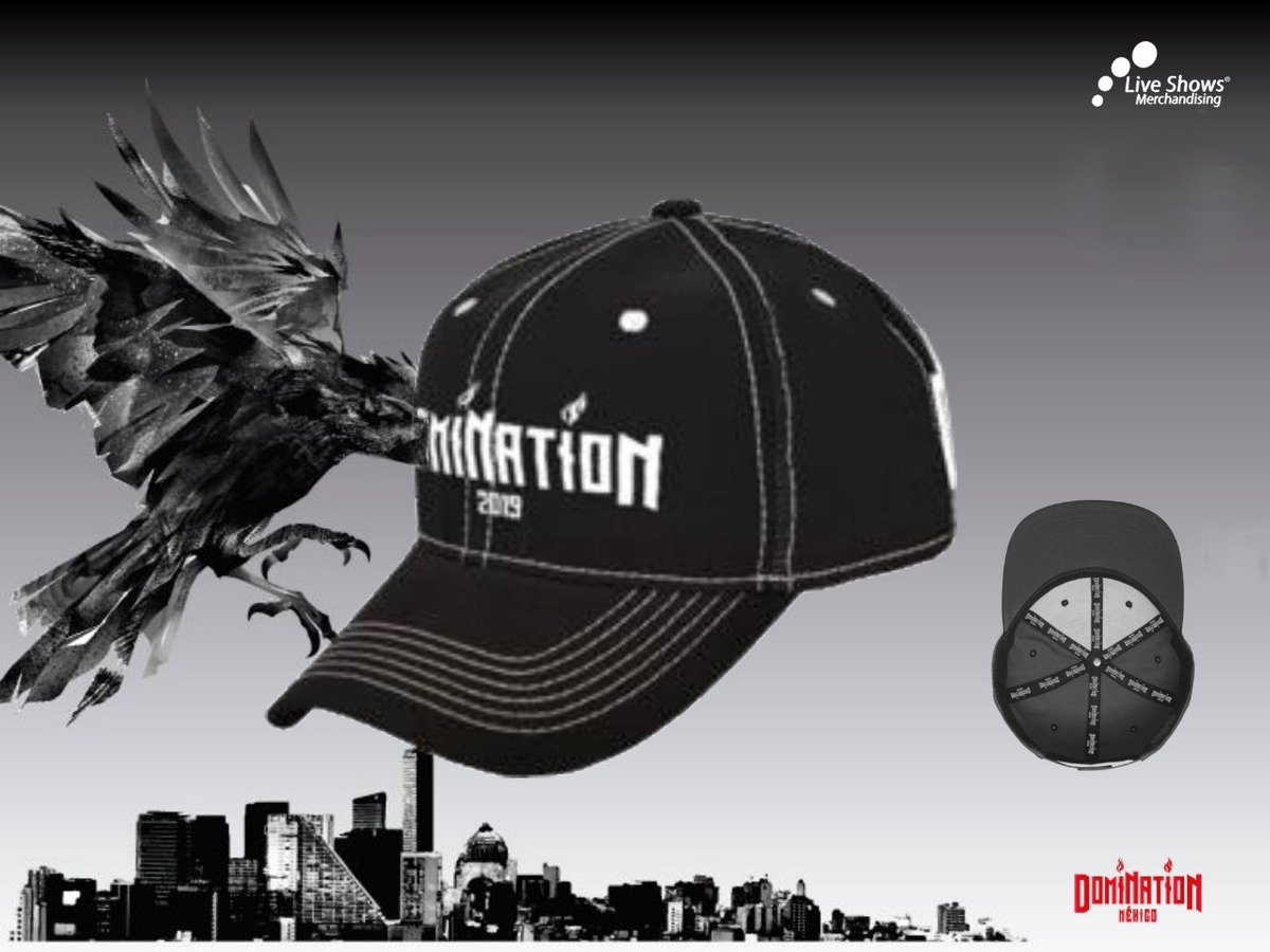 GORRA BEISBOLERA DOMINATION