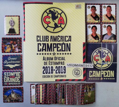 Album Oficial Club America Campeon 2018 2019 Completo
