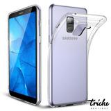 Funda Case Tpu Transparente Flexible Galaxy A8 Plus 2018