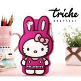 Funda / Botarga de Kitty Conejo para Alcatel Pop C7