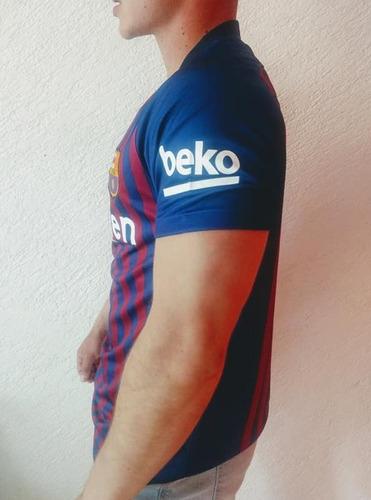 00c301cc2 Jersey Playera Barcelona 2018 2019 en venta en Del Mar Tláhuac ...