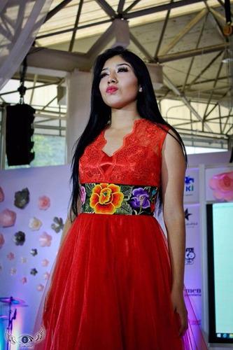 Elegantes Vestidos Artesanales Oaxaca Mexico En Venta En