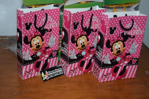 1f737f4e2 Dulceros Minnie Bolsitas Personalizados Fiestas Cumpleaños en venta ...