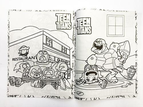 Libro Para Colorear Jóvenes Titanes Teen Titans Go T. Carta en venta ...