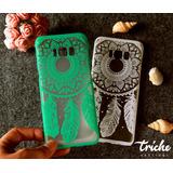 Funda Vintage Flores Mandala Atrapasueños Color Galaxy S8