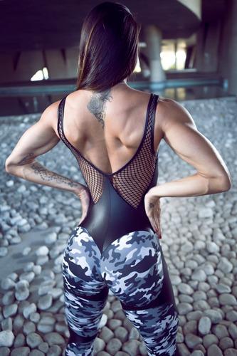 Enterizo Jumpsuit Fit Gym Dynamite Combat Mujer