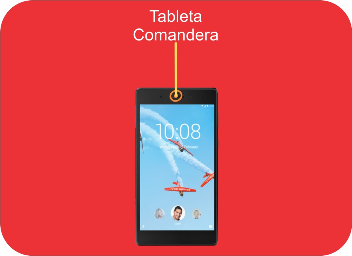 Tableta Comandera