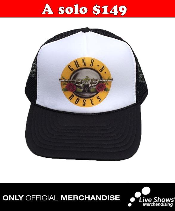 Gorra Oficial GUNS N ROSES