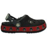 Zapato Crocs Niño Darth Vader Lined Clog Negro